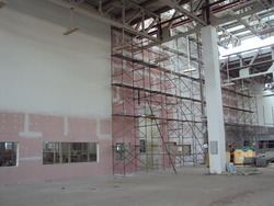 Gypsum Drytech Interior Partitioning for Office