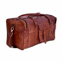 Leather Travel Luggage Bag
