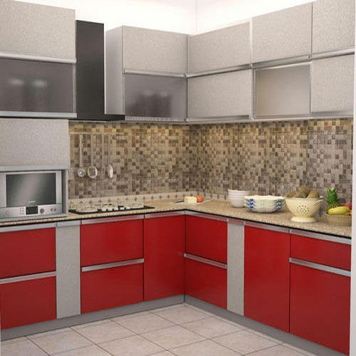 New 100 Modular Kitchen Designs Cabinets Colors: Standard Modular Kitchen, Contemporary Kitchen Designer