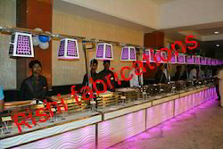 Acrylic Catering Buffet Counter