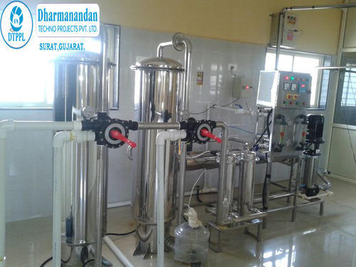 2000 LPH Mineral Water Plant