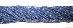 Iolite Beads Rondelle Faceted