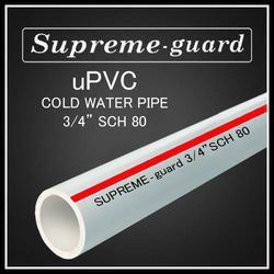UPVC Pipes 3/4 SCH 80