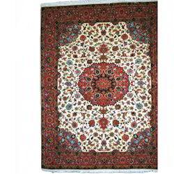 Fab Export International Rectangular Tabriz Hand Knotted Carpet