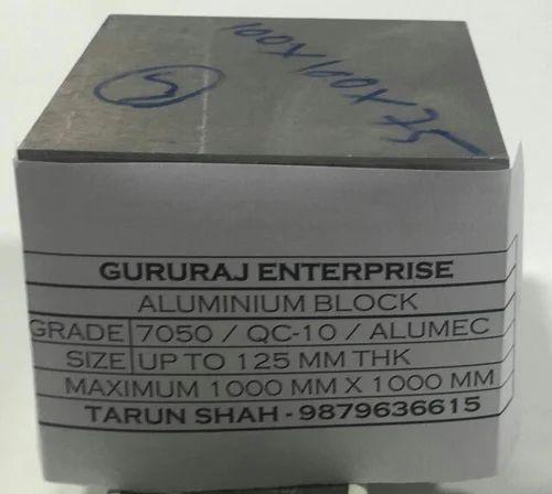 Aluminum Alloy 7050 Aluminium Alloys Gururaj Enterprise
