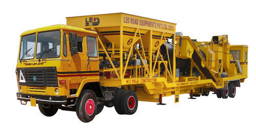 Leo Movable Drum Mix Asphalt Plant
