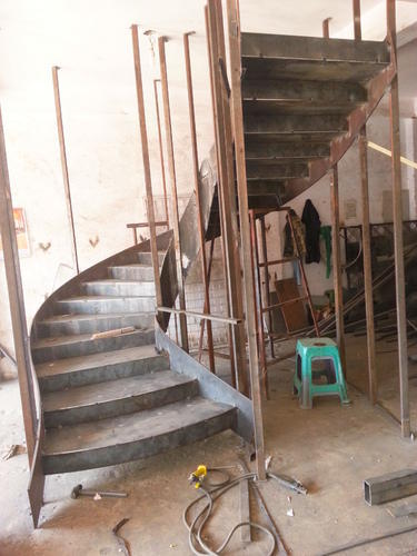 Mild Steel Curved Staircase