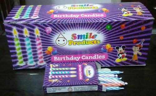 Smile Products And Multi Color Birthday Candles