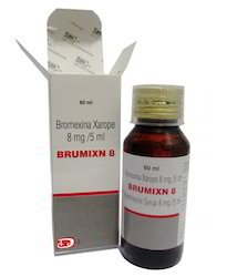 Bromohexine Syrup 8mg / 5ml