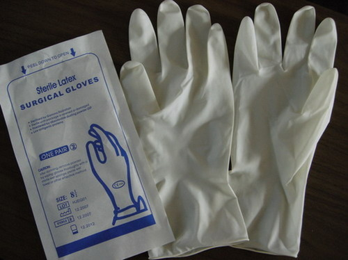 Latex Sterile Surgical Gloves For Hospital Rs 7 5 Piece
