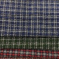 Twill Check Fabric