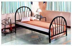 Metal Black Single Bed