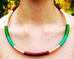 Handmade Silk Cord Necklace