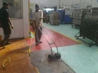 Floor Coating Epoxy Burning
