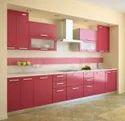 High Glossy Kitchen Interior Cupboards