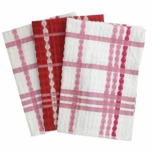 Cotton Check Terry Kitchen Towel
