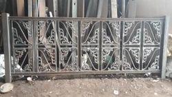Mild Steel White Balcony Grills, For Residential
