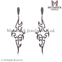 Black Diamond Designer Earring