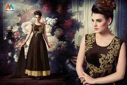 Designer Gown Style Salwar Suit