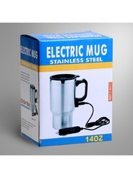 Stainless Steel 12v Car Electric Heating Mug Hot Drink