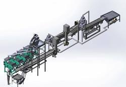 Fully Automatic Cashew Cutting Line