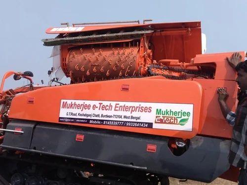Head / Half Feed Combine Harvester - MUKHERJEE E-TECH ENTERPRISE