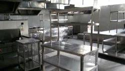 Commercial Kitchen Set Up