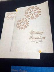 Heart Shape Wedding Card