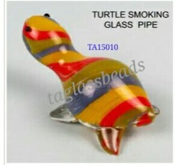 Turtle Glass Smoking Pipe