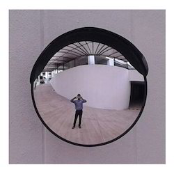 Black Body Heavy Duty Convex Mirror