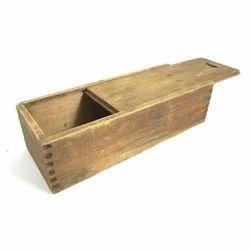 Domestic Rubber Wooden Box
