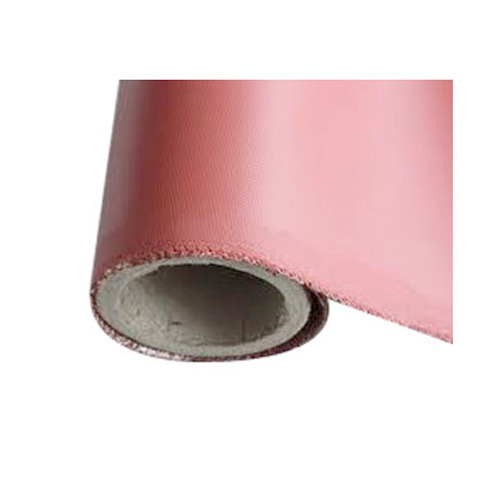 Silicone Rubber Coated Fiber Glass Cloth, Packaging Type: Roll
