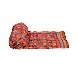 Ethnic Jaipuri Print Cotton Double Bed Razai Quilt 301