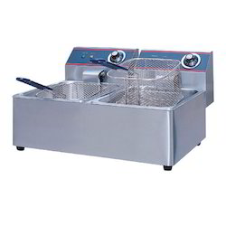 Stainless Steel Double Deep Fryer