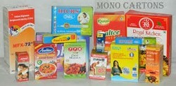 Rectangular Plain Mono Cartons, For Food, Weight Holding Capacity (kg): <2 Kg