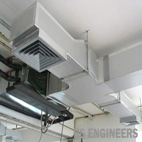 Hs Engineers Ac Ducting For Commercial Rs 1350 Square