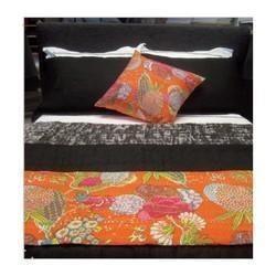 Cotton Reversible Kantha Blanket