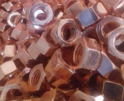 TFMT Copper Hex Nut, Size: M4 to M20