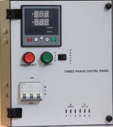 Auto Three Phase Digital D.O.L.Starter Panel