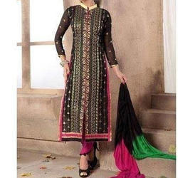 Party wear Ladies Straight Suit