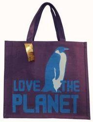 Custom Designer Jute Promotional Bag