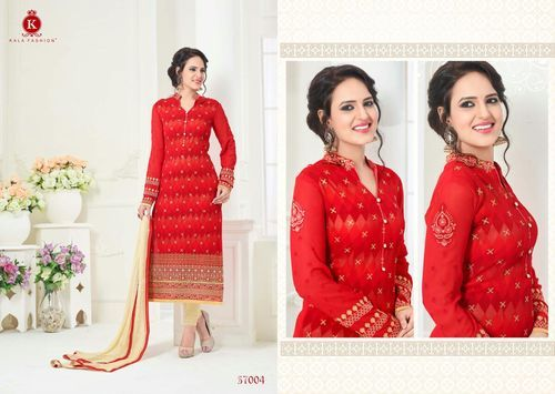 Georgette Fashionable Salwar Suit