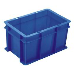 Plastic Blue Color Crates