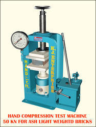 Hand Operated Concrete Testing Machine 500 Kn