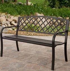 Superior Wrought Iron Garden Bench