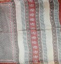 Bagru Booti Block Chanderi Saree