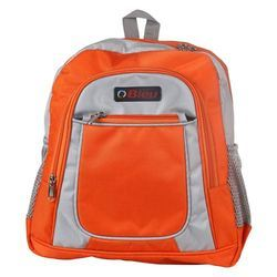 Orange Backpack School Bag