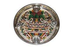 Pooja Dish - German Half Meena