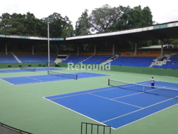 Official Badminton Court Flooring