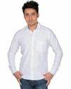 Cool White Cotton Shirt